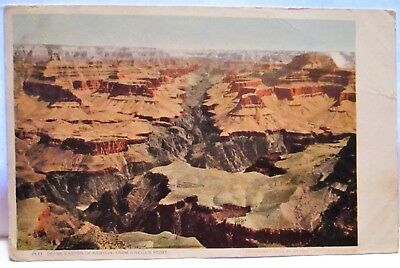 1905 Postcard Grand Canyon Of Arizona From O'neill's Point