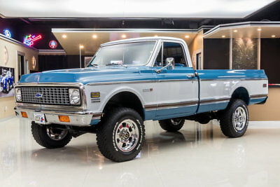 1972 Chevrolet K-20 Cheyenne 4X4 Pickup Frame Off, Rotisserie Restored! GM 350ci V8, TH350 Automatic, PS, PB, 3/4 Ton
