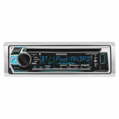 "Bluetooth CD Marine Receiver, 2X 6.5"" + 2x 6x9"" Speakers, Amp, Wire, Dash Kit"