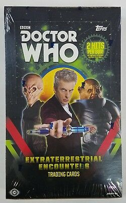 2016 Topps Doctor Who Extraterrestrial Encounters Hobby