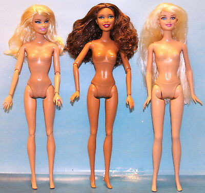3 SAMMLER BARBIES Fashion Fever  100 Posen NEU nude !!!!