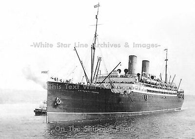 """Photo: 5"""" x 7"""": The Empress Of Ireland On The St. Lawrence River, 1910"""