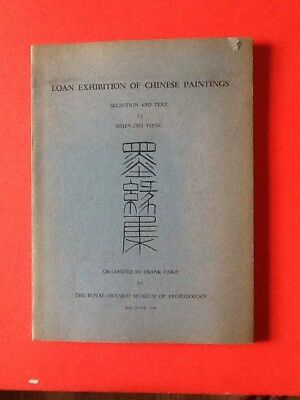 RARE 1956 Loan Exhibition of Chinese Paintings illustrated catalog