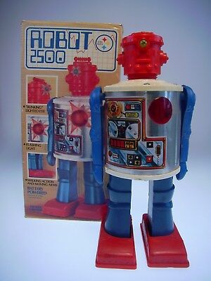 "GSR ROBOT ""ROBOT 2500""  DURHAM IND. N.Y. MADE IN HK, NEARLY NEU/NEW/NEUFnBOX !"