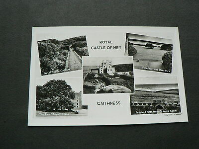 Old Photo Multi-view Postcard: Royal Castle of Mey, Caithness, Scotland