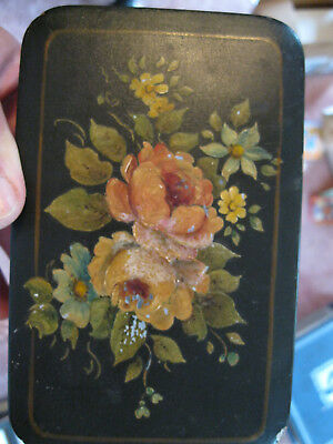 1948 Tin Tole Painted Box Evelyn M Rodgers Skinner