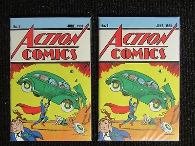 Action Comics #1  Loot Crate Reprint  Get 2 Copies for $15.94 w /Free Shipping!!
