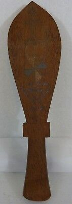 WW2 1943 Old Hand Carved Wood Tribal War Club Oceanic Munda Solomon Islands