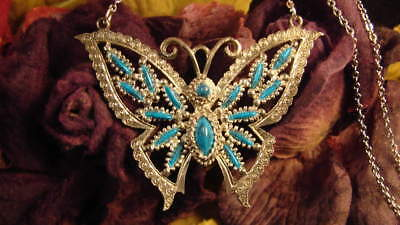 ~Beautiful Butterfly Fairy Amulet & Spell Scroll Gift~Fairy Magick Vessel~
