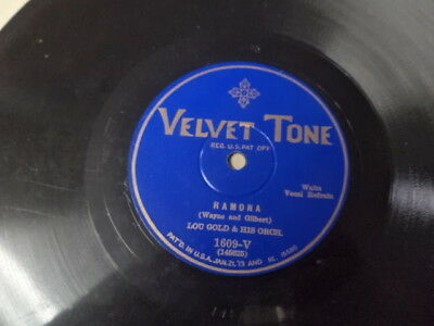 1930 Velvet Tone 78/The Westerners/Lou Gold&His Orchestra/E!