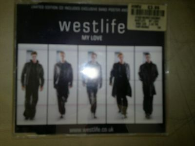 Westlife - My Love (2000) Limited Edition  CD Enhanced Single