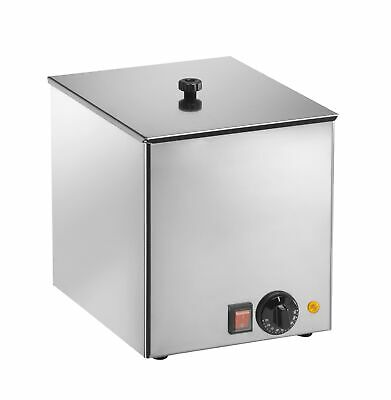Sausage-Warmer Model HD 100 Cns Stainless Steel Water Bain Marie Made in Europe