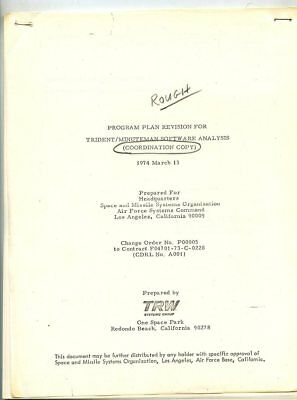 *l504 Vintage Trw Space Program Revision For Trident Minuteman Software Analysis