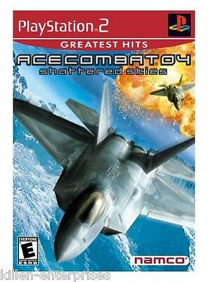 Ace Combat 4: Shattered Skies (Playstation 2) PS2