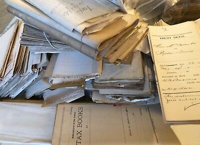 Large Lot 1800s Arkansas Court Deeds Share Cropper Farmers Tax Records Documents