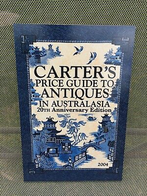 CARTER'S PRICE GUIDE Ceramic Tile - 2004 20th Anniversary Edition -275mm X 185mm