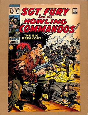 Sgt.Fury and His Howling Commandos # 61 - Army War Stories! MARVEL