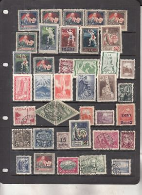 oldhal-Latvia-Great lot of Stamps-All pre WW11 era