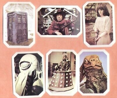 CARD SET 1976 TY PHOO 'The AMAZING WORLD of DOCTOR WHO 12 Octagonal Cards - #4L