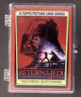 CARD SET 1983 TOPPS STAR WARS RETURN of the JEDI 132 Cards - #BL