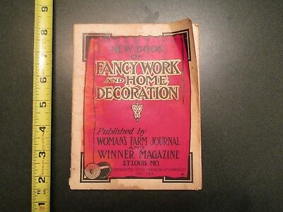 1901 New Book of Fancy work and Home Decoration