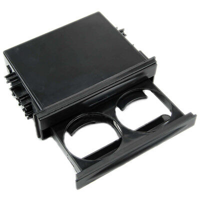 Storage Box Cup Holder Box Black Drink-Cup Plastic Truck Auto Double Din Radio