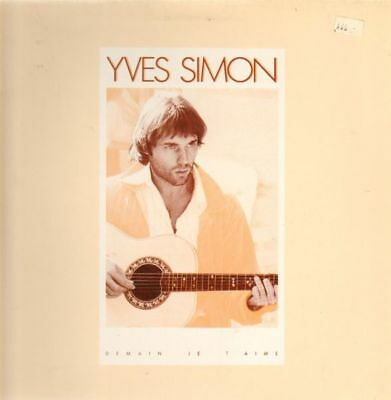 Yves Simon Demain Je TAime GATEFOLD NEAR MINT RCA Vinyl LP