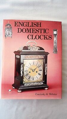 Book - English Domestic Clocks Chancery Publ 1976 Cescinksy & Webster H/b
