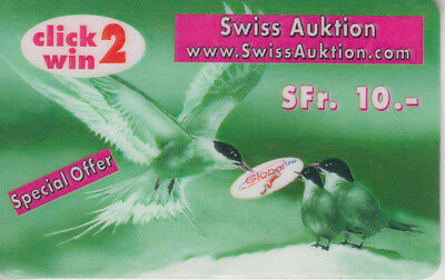 Suisse - Phone Card - Taxcard Suisse  ***  Globalline B  ***