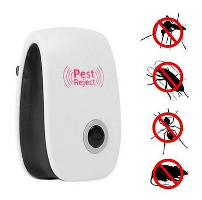 Outdoor Camping Pest Repeller Killer Ultrasonic Rejector Bug Mosquito Insect Fly