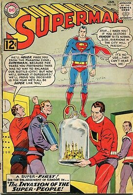 Superman # 158 - 1St Appearance Of Flamebird And Nightwing - Key - Curt Swan Art
