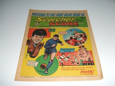 Scorcher And Score First Issue 3Rd July 1971