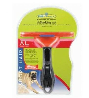 Furminator XL Dog Short Hair Deshedding Tool Comb Brush Rake