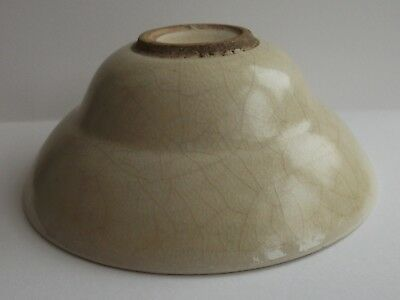 A Chinese Crackle Glaze Bowl