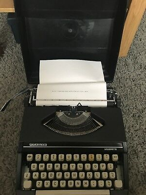 Silver Reed Silverette Typewriter Fully Working