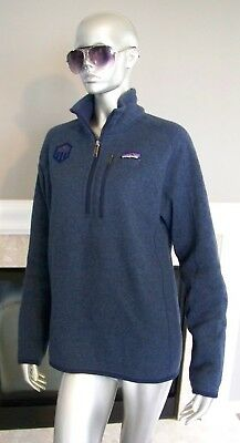 Rare Patagonia Mens Better Sweater 14 Zip Fleece Pullover S Wow