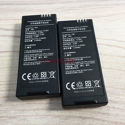 2 x DHZ 1150mAh Flight Bateria Battery For Ryze Tech DJI Tello Drone