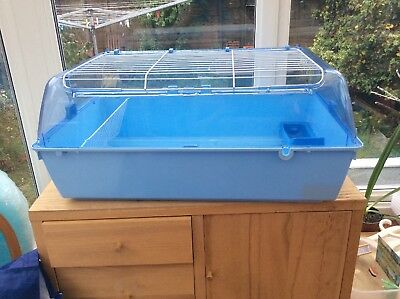 Zoo Zone Cage Blue Small Animal Cage With Extras