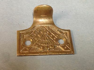 Antique Vintage Bronze Ornate Victorian  Window Lift Pull Part