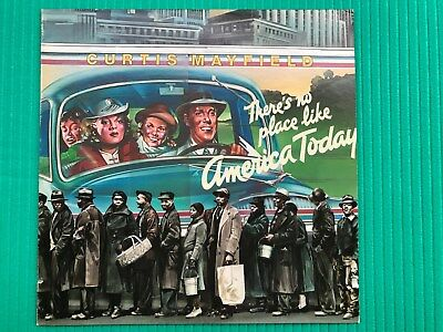CURTIS MAYFIELD: There's no place like America Today (LP von 1975)