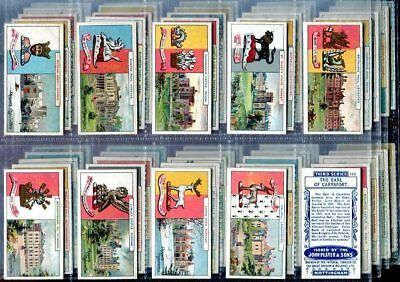 Tobacco Card Set, John Player & Sons, COUNTRY SEATS & ARMS, 3rd Series, 1910