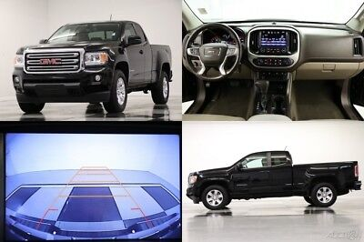 2016 GMC Canyon 4WD SLE Camera Onyx Black Extended Cab 4X4 Like New Used Bluetooth Low Miles 17 15 2015 16 Ext Remote Start Warranty