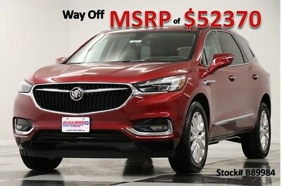 2018 Buick Enclave MSRP$52370 AWD Essence Sunroof GPS Red Quartz New Navigation Heated Leather Seats 7 Passenger All Wheel Bluetooth 17 2017 18