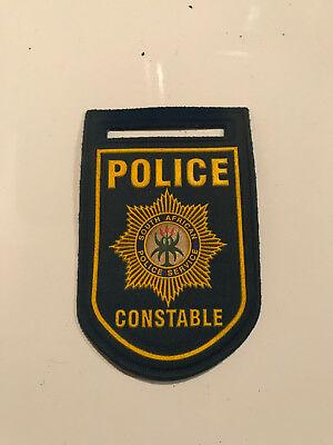 Polizei Südafrika Constable South Africa Police altes Abzeichen Patch