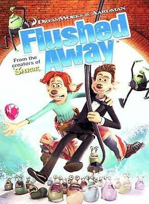 Flushed Away (DVD, 2007, Widescreen) NEW