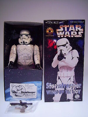 "GSR ROBOT GSCOM STAR WARS ""STORMTROOPER"" OSAKA,24cm FIGURE, NEU/NEW/NEUFnBOX !"
