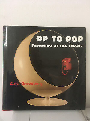 OP To POP Furniture of the 1960s Kunstbuch Cara Greenberg 1999 Design Buch