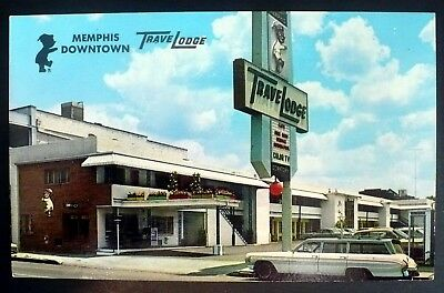 1962 Memphis Downtown TraveLodge, Memphis Tennessee