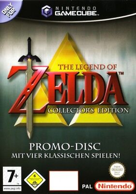 Nintendo GameCube Spiel - The Legend of Zelda: Collector's Edition DE/EN mit OVP