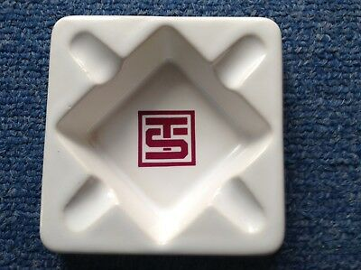 "Vintage ""toots Shor"" Ceramic Ashtray Very Very Nice ! Very Affordable !"